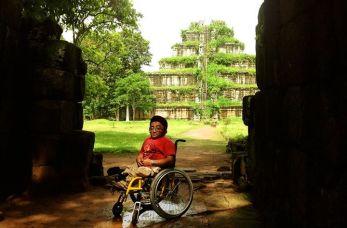 Mitch St.Pierre exploring ancient temples