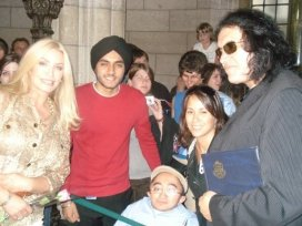 155 With Gene Simmons from KISS and his wife