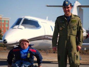 Mitch St.Pierre & Canadian Air Force Pilot