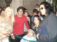615 With the dude from KISS Gene Simmons and his wifey