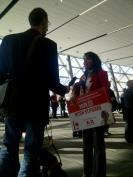691 My little Neha talkin to reporters!