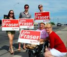 736 Campaigning at John Fraser's Campaign Kick Off! Great Morning With a Great Team!