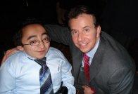 Mitch and Scott Brison, Liberal Leader Candidate.