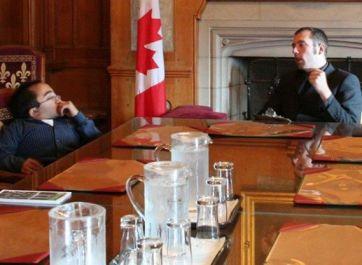 Mitch St.Pierre in Parliament