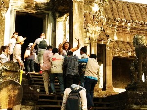Angkor Wat in a Wheelchair